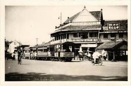 CPA Old BATAVIA Street Scene Carte Photo Real Photo INDONESIA (509963) - Cartes Postales