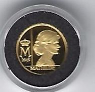 BELGIE - BELGIQUE 12 1/2 Euro GOUD 2015 - Koningin Mathilde - Belgique