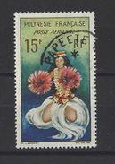 POLYNESIE . YT PA 7obl Danseuse Tahitienne 1964 - Poste Aérienne
