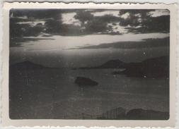 Photographie (1950) - GRECE - Cap Sounion - Coucher De Soleil Au Temple De Poséidon - Places