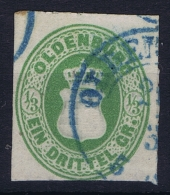 Oldenburg: Mi Nr 15 A  Obl./Gestempelt/used  Blaustempel - Oldenburg