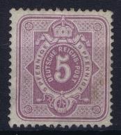 Deutsches Reich  Mi Nr 32 MH/* Flz/ Charniere  1875 / 1879 - Deutschland
