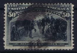 USA Sc Nr 246  Mi Nr 83  Used Obl.  1893 - 1847-99 General Issues