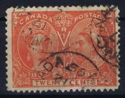 Canada Sg 133  Mi 47 Used Obl  1897 - 1851-1902 Victoria