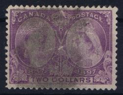 Canada Sg 137  Mi 50 Used Obl  1897 - 1851-1902 Victoria