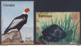 Peru 2017 ** Fauna: Condor. Tortuga. See Desc. - Peru