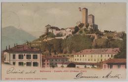 Bellinzona - Castello D'Uri (Chateau D'Uri) Phototypie - TI Tessin