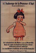 A L'Auberge De La Pomme D'Api , Louveciennes - Carte Photo Moderne - Publicidad