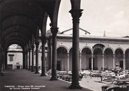 FIRENZE - CHIESA DELLA SS ANNUNZIATA DAL PORTICO OSPEDALE INNOCENTI AUTENTICA 100% - Firenze (Florence)