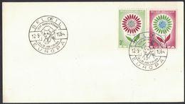 AU56     België Belgique 1964 - 2 X 1298/99 Europa Anderlues / Beloeil 12-9-1964 - 1961-70