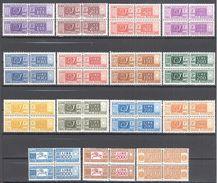 Italie: Yvert N° CP 74/90**; MNH; 15 Valeurs; A Voir! - 1946-.. République