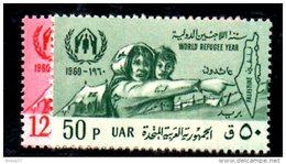 XP48 - SYRIA SIRIA , La Serie 138/139   ***  MNH Rifugiato Refugee - Siria