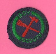 Boy Scouts Badge In Stoffa - Scoutismo