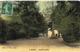 CPA N°13193 - LOT DE 4 CARTES DE RUFFEC - L' EGLISE - Ruffec