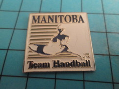 Pin816b Pin's Pins / Beau Et Rare /  SPORTS / MANITOBA TEAM HANDBALL - Handball