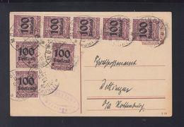 Dt. Reich Dienst-PK 1923 Mössingen - Dienstpost