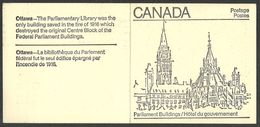 CANADA 1982 &1983 PARLIAMENT BOOKLETS MAPLE LEAVES MNH - 1952-.... Reign Of Elizabeth II