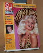 Ciné Revue N 45 6/11/1980 Mireille Mathieu, Errol Flynn, Evelyn Keyes, Jackie Chan Etc Voir Annonce - Cine