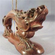 ~ DRAGON PORTE ENCENS EN BOIS SCULPTE # Sculpture Asie Asiatique Mythologie - Asian Art