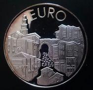 "BULGARIA 10 LEVA 1999 SILVER PROOF ""Euro Integration"" Free Shipping Via Registered Air Mail - Bulgaria"