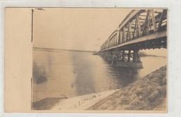 BELARUS. COLUMNS. RIVER NEMAN. Railway Bridge. - Belarus