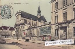 CHAUMONT - Haute-Marne - CPA - Le Lyçée - Colorisée - 1907 - Chaumont
