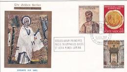 Vatikan. 1967. Peter + Paul  Mi: 523+525+526. The Golden Serie No.92 - FDC