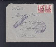 Spain Cover Censor Parque De Automoviles - 1931-Heute: 2. Rep. - ... Juan Carlos I