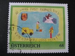 Personalisierte Marke Gestempelt, 40 Jahre Postpartner Ried - Österreich