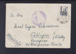 Spain Cover Censor Salamanca 1938 To Germany - 1931-Heute: 2. Rep. - ... Juan Carlos I