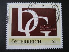Personalisierte Marke Gestempelt, Badener Gespräche - Österreich