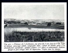 1948  --  PLATEAU DE L AVALLONNAIS  JOUX LA VILLE  YONNE 89   3M585 - Old Paper