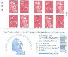 France 2006 - Yv N° 1514 ** - Les 60 Ans De La Marianne De Gandon ((5 X 3744b & 5 X 3977) - Booklets