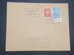 FRANCE - Env Commémorative De La Libération De Lyon Le 2 Sept 1944 - P22024 - Libération