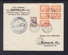 Hungary Zeppelin Cover 1931 - Briefe U. Dokumente