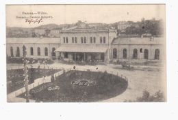 Wilna Bahnhof Railway Station 1915 OLD POSTCARD 2 Scans - Litauen