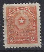 Paraguay 1913 (*) MH  2c - Paraguay