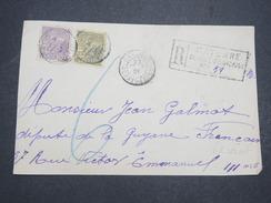 GUYANNE FRANçAISE - Devant De Lettre Recommandé Pour Paris - Pas Courant - Sept 1921 - P22036 - Guyane Française (1886-1949)