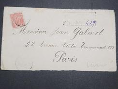 GUYANNE FRANçAISE - Devant De Lettre Recommandé Pour Paris - Pas Courant - 1920 - P22038 - Guyane Française (1886-1949)