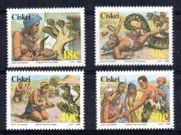 Ciskei - 1990 - Folklore (4th Series)- MNH - Ciskei