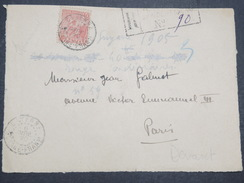 GUYANNE FRANçAISE - Devant De Lettre Recommandé Pour Paris - Pas Courant - 1920 - P22040 - Guyane Française (1886-1949)