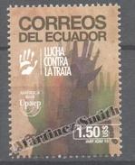 Ecuador - Equateur 2015 Yvert 2700, America UPAEP, Fight Against Human Trafficking - MNH - Ecuador
