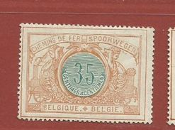 Timbre Belge     Timbre N° CF 33 - Used