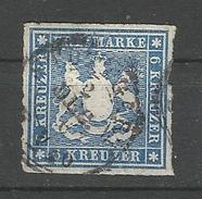 Württemberg. Wappen Von Württemberg, Nr. 32 A Gestempelt - Wuerttemberg