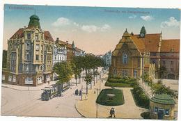 GELSENKIRCHEN - N° 1398 - HOSCHSTRASSE MIT REALGYMNASIUM (C. P. DE CARNET DEPLIANT) - Geilenkirchen