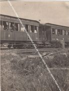 ANCIENNE PHOTO PRISE 2.4.1924 AU MAROC ESPAGNOLE (ZONE DE GUERRE CEUTA TETOUAN) / ANCIEN TRAIN EN GARE - Ceuta