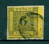 Baden. Wertziffern Im Kreis, Nr. 7 Briefstück - Baden