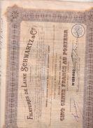 Filatures De Laine Schwartz & Cie. - Textil