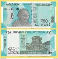 India 50 Rupees P-new 2017 UNC - India