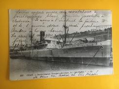 2.171120 - Oran Sté Générale Des Tansports Maritimes Le Sidi-Brahim - Oran